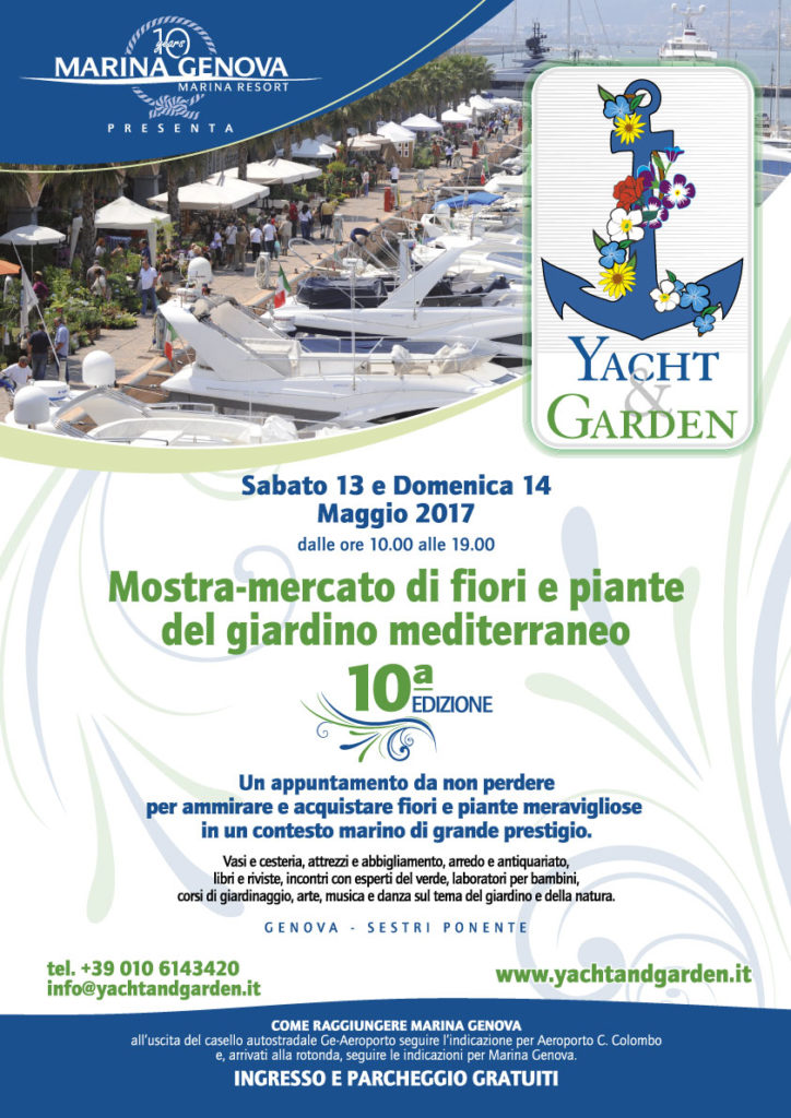 yacht e garden locandina